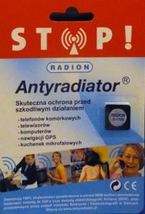 Antyradiator-awers