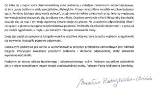 opinia M.Radziejewskiej