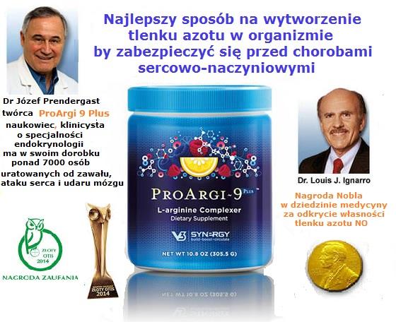 Złoty OTIS 2014 dla ProArgi 9+