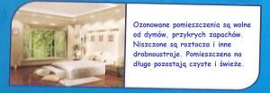 ozon pomieszczenia